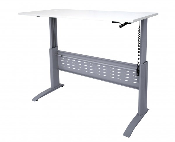 SE- Span Electric Straight Desk(Raised to Full Height)