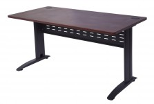FEVDKMB1875 A- OPEN DESK 1800W X 750D WITH BLACK SPAN BASE
