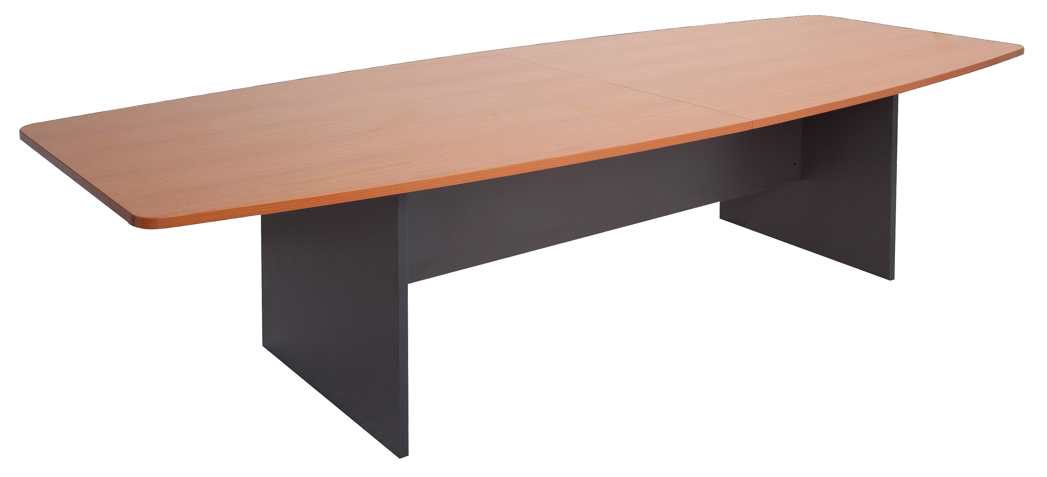 Office Direct Qld Workers Boat Shape Boardroom Table